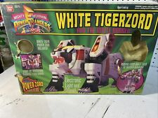 Vintage POWER RANGERS White Tigerzord And The White  Ranger 1994 - Bandai 2271