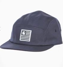 LOGO Carhartt Wip Berretto Blu Navy Scuro Snapback canovaccio di cotone 8 OZ Cappello Da Baseball