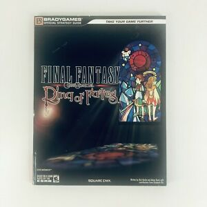 Final Fantasy Crystal Chronicles Ring of Fates Strategy Guide Book Nintendo DS