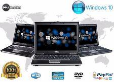 DELL LAPTOP LATiTUDE WINDOWS 10 CORE 2 DUO 4GB RAM 160GB WIN DVD WIFI COMPUTER