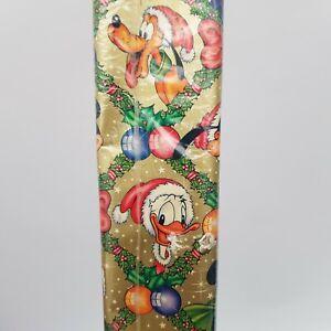 Vintage Retro 1980s Disney Christmas Gift Wrap Wrapping Paper 500cm x 70cm