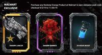 Gears 5 Rockstar SWARM DLC Exclusive Lancer Skin Code Xbox One
