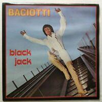 BACIOTTI LP BLACK JACK 33 GIRI VINYL ITALY 1977 DIG-IT PL3011 NM/NM