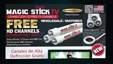 Magic Stick Max  Free TV PVC HD Indoor/Outdoor Antenna No Cable