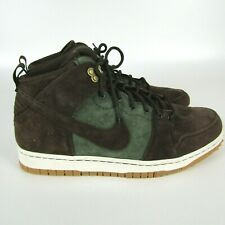 Nike Dunk CMFT WB Mens 12 Premium Shoes Olive Brown Boots 805995-300