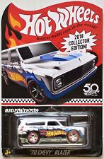 HOT WHEELS 2018 COLLECTOR EDITION '70 CHEVY BLAZER MAIL IN