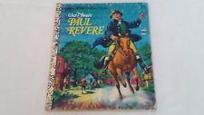 Walt Disney's Paul Revere Little Golden Book 2nd printing 1975