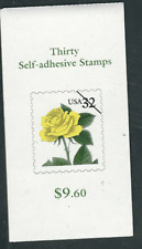 Scott #3049. ...32 Cent...Yellow Rose...  Booklet of 30