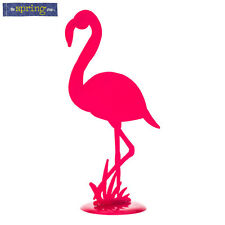 "16.5"" Cute Pink Metal Flamingo Nautical Beach Art Decor"