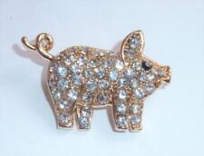 Markenlose Modeschmuck-Broschen & -Anstecknadeln aus Strass Diamant