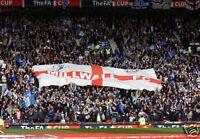 Millwall FA Cup Semi Final Fans 10x8 Photo