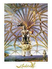 Salvador Dali Santiago el grande surrealist foiled art print 60x80 large horse
