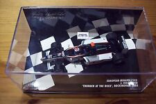 1/43 2003 EUROPEAN MINARDI F1X2 2 SEATER JOS VERSTAPPEN THUNDER AT THE ROCK