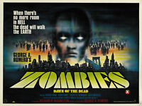Dawn of the Dead (1978) George A Romero Cult Horror movie poster print 2