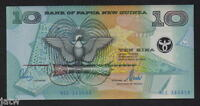 Papua New Guinea  P-26a. (2000) 10 Kina.. Standard Issue..  UNC