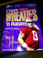 SAN FRANCISCO STEVE YOUNG WHEATIES CRISPY BOX - STILL SEALED