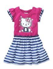 Hello Kitty Toddler Girls Flutter Sleeve Tee Dress Size 5T