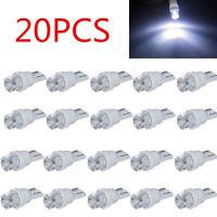 20PCS T10 Car White LED 194 168 SMD W5W Wedge Side light Bulb lamp 12V DC