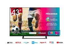 """Televisore TV HISENSE 43"""" SMART LED UHD 4K HDR Piede Centrale DVB-T2 43AE7230F"""