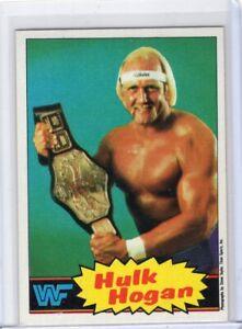 1985 Topps HULK HOGAN WWF WWE Rookie Rc #16