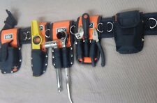 Cinturón de herramientas andamio Nylon Acolchado 8in1-Triple + Doble Llave-cordón de seguridad