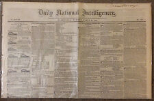 Two Old Race Horse Advertisments/Five Slave Advertisments in 1840 Newspaper