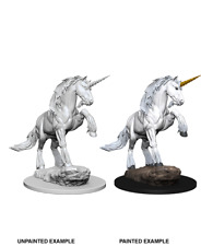 WizKids Pathfinder Deep Cuts Unpainted Miniatures - Unicorn miniatura