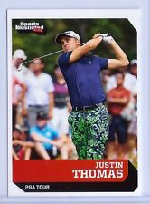 """JUSTIN THOMAS 2016 SPORTS ILLUSTRATED """"1 OF 9"""" 1ST EVER PRINTED ROOKIE CARD!"""