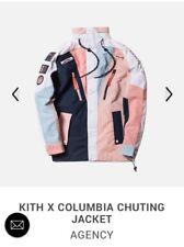 Kith x Columbia Chuting Jacket Agency Navy Pink Salmon EEA NWT sz XXL