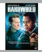 Hardwired (DVD, 2010) Val Kilmer - Cuba Gooding Jr. - FREEPOST new UK stock