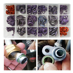 270Pcs 18 Size Car A/C System Air Conditioning Compressor Rubber O Rings Seal l