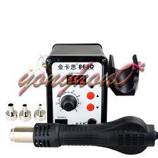 Digital Electronic Hot Air Heat Gun 868d Smd Rework Solder Station3 Nozzle 220v