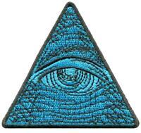 Eye of Providence Illuminati dollar bill third eye applique iron-on patch G-174