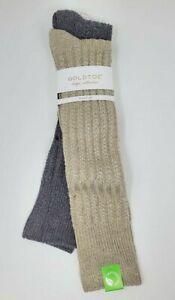 GOLD TOE Women's Lodge Collection Tuckstitch Knee High Socks, 9-11 fits shoe 6-9