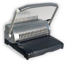 Plastikbindegerät S100, stanzt bis 22 Blatt, Bindemaschine für Plastikspiralen