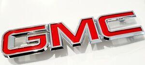 GM FRONT GRILLE GMC BADGE EMBLEM 2007-2014 SIERRA 2007-2015 ACADIA 22761717