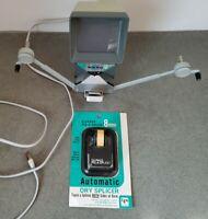 VTG BAIA REVIEWER 8MM MOVIE EDITOR & Du Page PicASplice Auto Dry Splicer