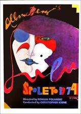 Richard LINDNER Spoleto Festival Opera Poster 16 x 11