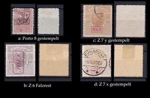Rumänien, Militärverwaltung Kriegssteuermarken, bitte auswaehlen #e418