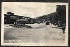 Judaica Palestine Old Postcard Tiberias Hagalil Street With Bus