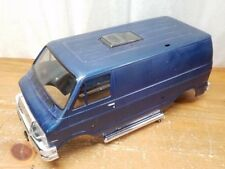 Tamiya Vintage Lunch Box Blue Purple Body Scale Dodge Van Body Assembled Painted