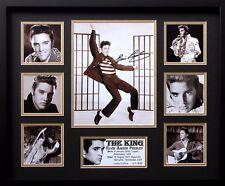 New Elvis Signed Limited Edition Memorabilia Framed