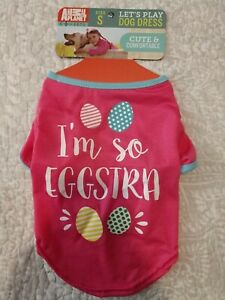 Dog Dress - S SMALL - Pink/Blue - Animal Planet NWT - FREE SHIPPING