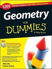 Geometry: 1,001 Practice Problems For Dummies (+ Free Online Practice)-ExLibrary