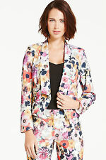 Paper Dolls Poppy Floral Waffle Blazer SIZE 12 NEW RRP £52 BOX82 04 A