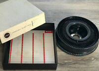 Vintage 1960s Eastman Kodak Photo Carousel 80 Slide Tray for Projector Mad Men