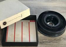 Vintage 1960s Eastman Kodak Photo Carousel 80 Slide Tray for Projector Mad Men