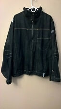 PHYSICAL SCIENCE Men's Vintage Zip Up Jeans Jacket - Size: XL - Made in KOREA