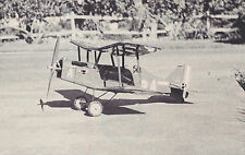Peanut Scale British WW-I RAF SE-5a Biplane Plans, Templates, Instructions 13ws
