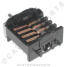 Ego 42.03400.009 Interruptor selector giratorio 250 V 16 A 2 posición Freidora Bain Marie